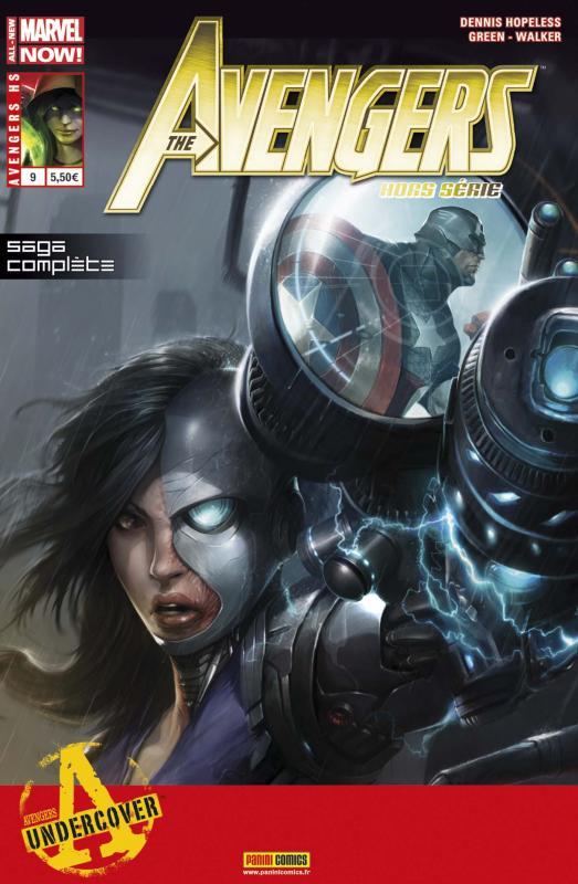 The Avengers (revue) – Hors série, T9 : En immersion (0), comics chez Panini Comics de Hopeless, Walker, Green II, Walker, Beaulieu, Mattina