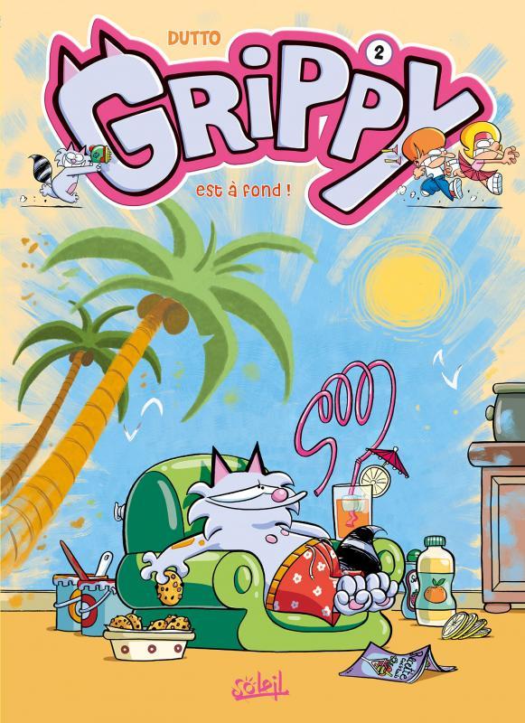Grippy T2 : Est à fond ! (0), bd chez Soleil de Dutto, BenBK