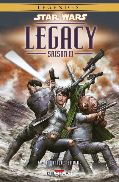Star Wars Legacy – Saison 2, T4 : Un unique Empire (0), comics chez Delcourt de Bechko, Hardman, Thies, Boyo, Alessio