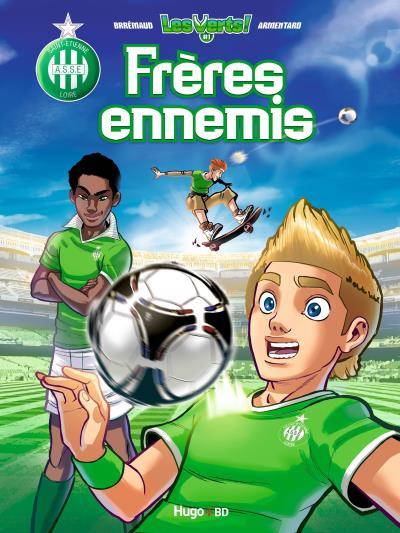 Les Verts T1 : Frères ennemis (0), bd chez Hugo BD de Brrémaud, Armentaro