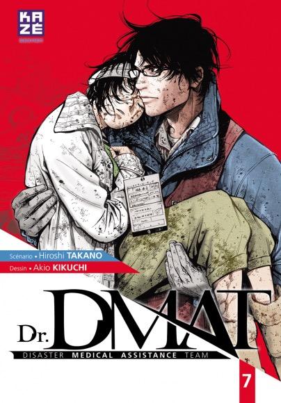 Dr. DMAT T7, manga chez Kazé manga de Takano, Kikuchi