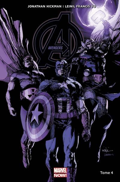 The Avengers (vol.5) T4 : Infinity (0), comics chez Panini Comics de Hickman, Yu, Curiel, Gho, Alanguilan, Mounts