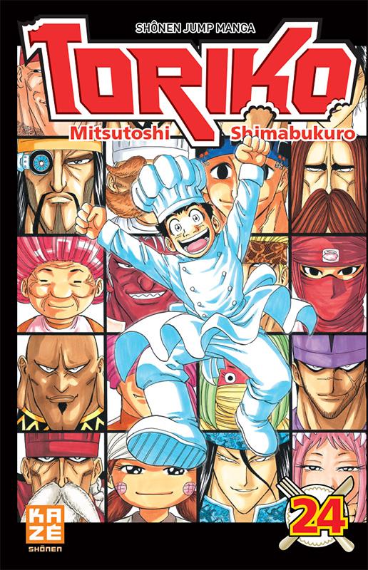 Toriko T24, manga chez Kazé manga de Shimabukuro