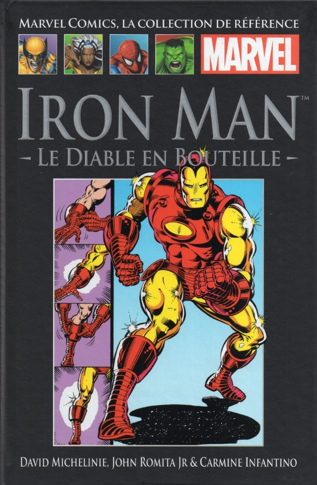 Marvel Comics, la collection de référence T2 : Iron Man - Le diable en bouteille (0), comics chez Hachette de Michelinie, Layton, Infantino, Romita Jr, Sean, Gafford, Sharen