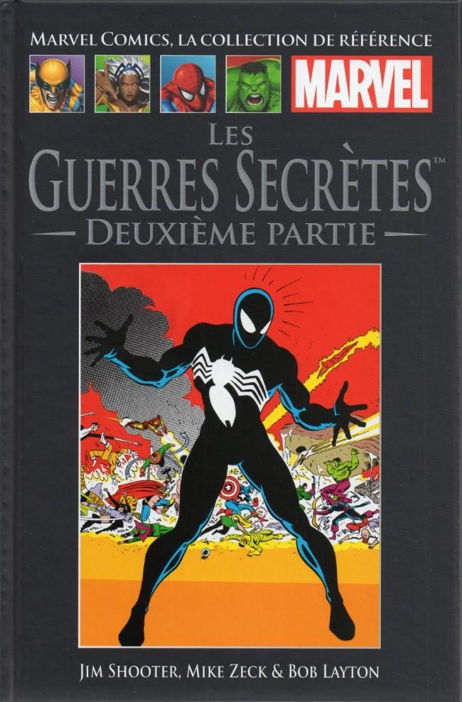 Marvel Comics, la collection de référence T8 : Les Guerres Secrètes - 2ème partie (0), comics chez Hachette de Shooter, Zeck, Layton, Becton, Scheele, Yomtov