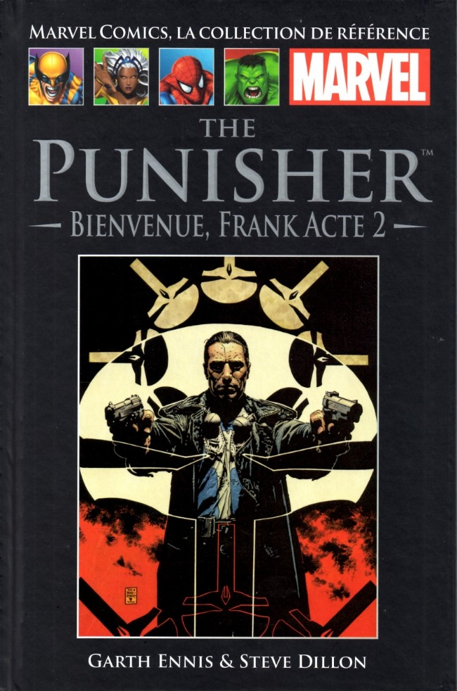 Marvel Comics, la collection de référence T22 : The Punisher - Bienvenue, Frank (acte 2) (0), comics chez Hachette de Ennis, Dillon, Sotomayor, Palmiotti