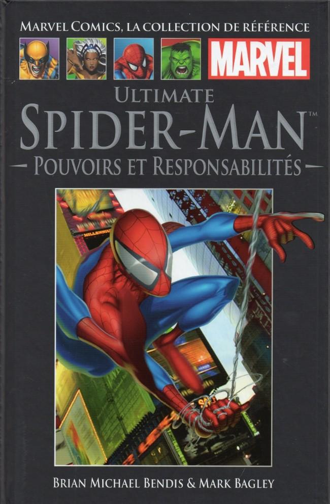 Marvel Comics, la collection de référence T23 : Ultimate Spider-Man - Pouvoirs et responsabilités (0), comics chez Hachette de Bendis, Jemas, Bagley, Panosian, Colorgraphix, Buccellato, Javins