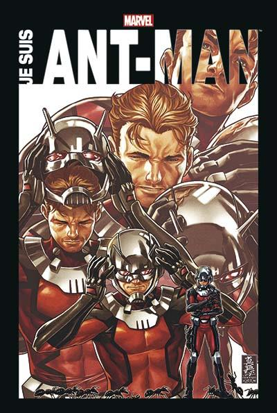 Je suis Ant-Man, comics chez Panini Comics de Aguirre-Sacasa, Shooter, Huntley, Ostrander, Lee, Michelinie, Thomas, Seeley, Layton, Lieber, Ferry, Kirby, Bingham, Hans, Perez, Buscema, Hall, Byrne, Collectif, Brooks