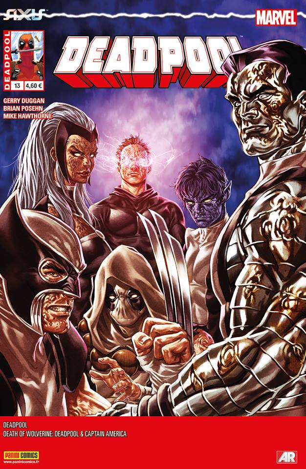 Deadpool (revue) – V 4, T13 : Un ami dans le besoin (0), comics chez Panini Comics de Posehn, Duggan, Kolins, Hawthorne, Redmond, Bellaire, Gandini, Brooks