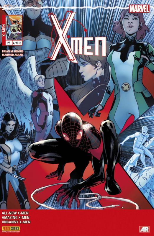 X-Men (revue) – V 4, T25 : AXIS : le pire d'entre tous (0), comics chez Panini Comics de Kyle, Yost, Bendis, Anka, Coello, Asrar, Barberi, Rosenberg, Maiolo, Gracia, Pichelli