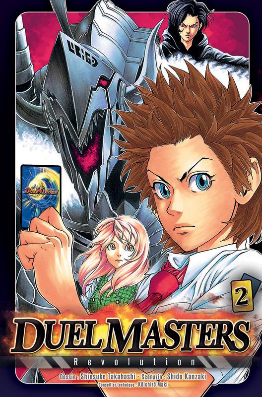 Duel masters revolution  T2, manga chez Tonkam de Kanzaki, Takahashi