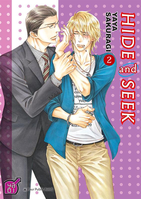 Hide and seek T2, manga chez Taïfu comics de Sakuragi