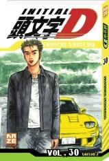 Initial D T30, manga chez Kazé manga de Shigeno