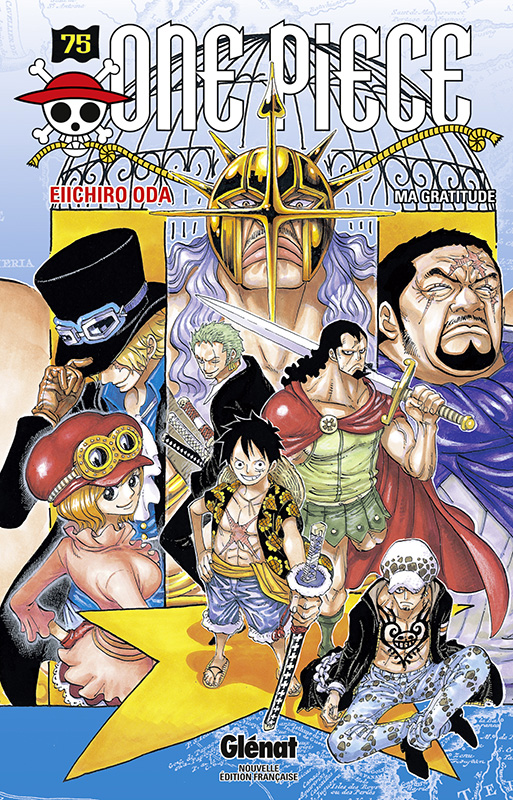 One Piece T75 : Ma gratitude (0), manga chez Glénat de Oda
