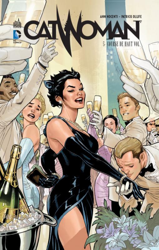 Catwoman T5 : Course de haut vol (0), comics chez Urban Comics de Fisch, Layman, Nocenti, Lopresti, Oliffe, Richards, Oback, Dodson