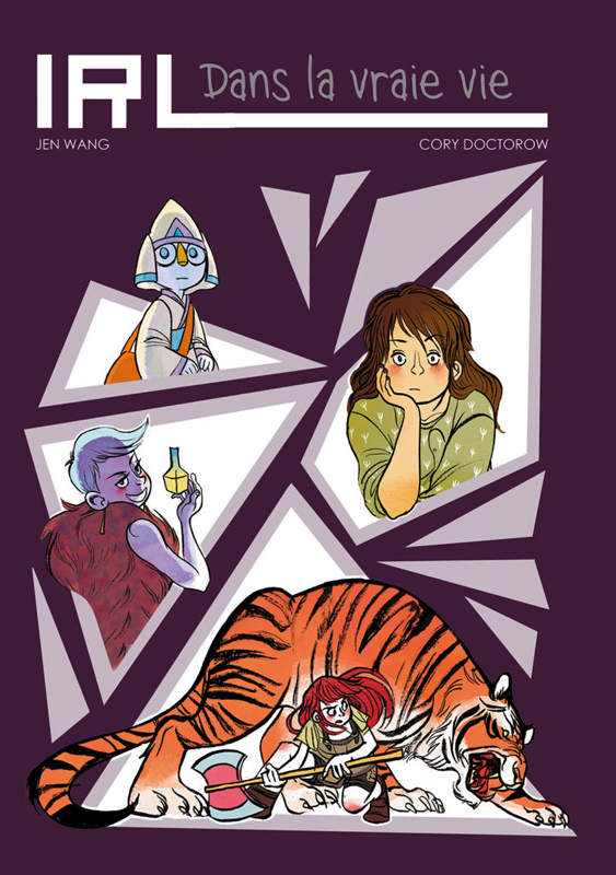 IRL - Dans la vraie vie, comics chez Akileos de Doctorow, Wang