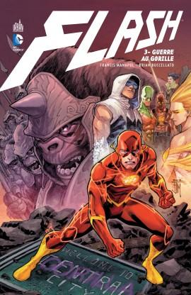 Flash – New 52, T3 : Guerre au gorille (0), comics chez Urban Comics de Manapul, Buccellato, Winn, Takara, To, Herring