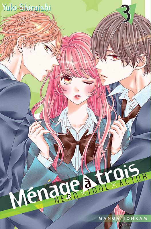 Ménage à trois T3, manga chez Tonkam de Shiraishi