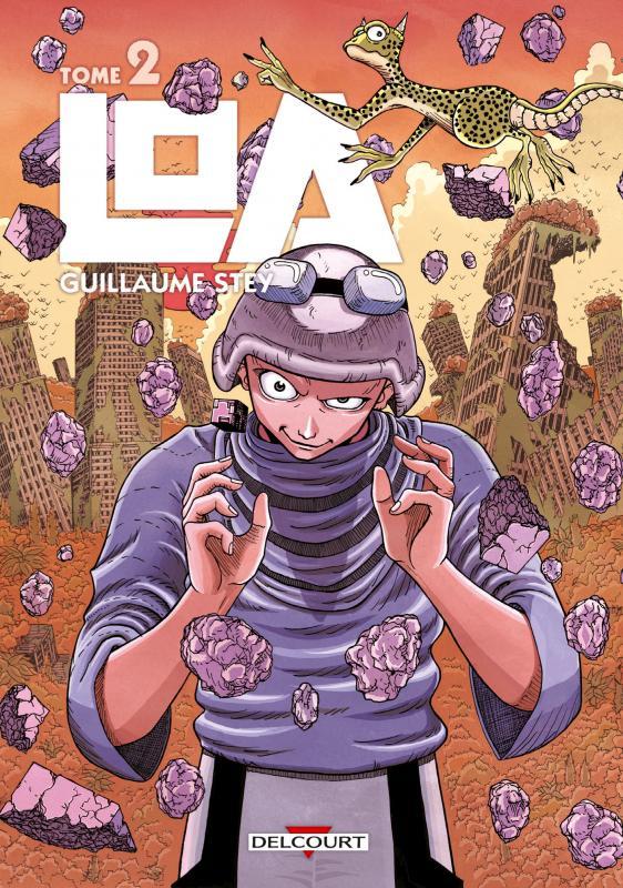 Loa T2, manga chez Delcourt de Stey