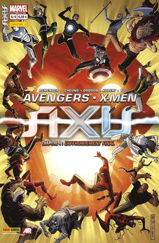 AXIS - Avengers & X-Men T4 : L'affrontement final (0), comics chez Panini Comics de Remender, Yu, Dodson, Kubert, Alanguilan, Aburtov, Delgado, Mounts, Cheung