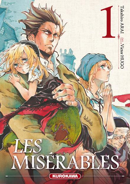 Les Misérables T1, manga chez Kurokawa de Hugo, Arai