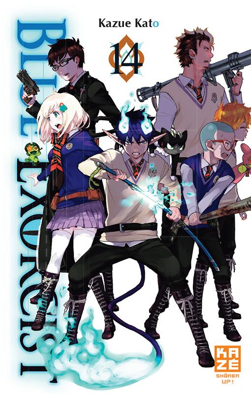 Blue exorcist T14, manga chez Kazé manga de Kato