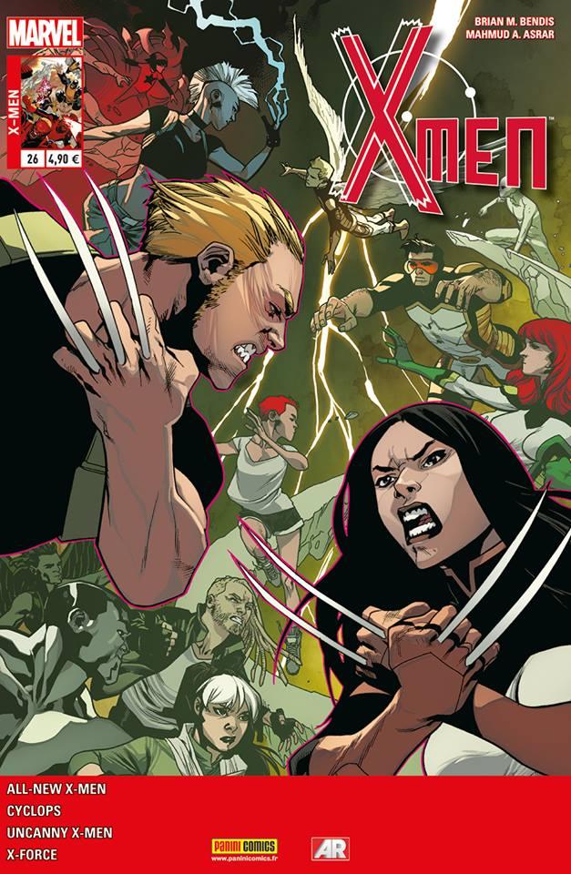 X-Men (revue) – V 4, T26 : Guerre à la terreur (0), comics chez Panini Comics de Spurrier, Bendis, Layman, Asrar, Garron, Bachalo, Kim, Villarrubia, Gracia, Sotomayor, Fabela
