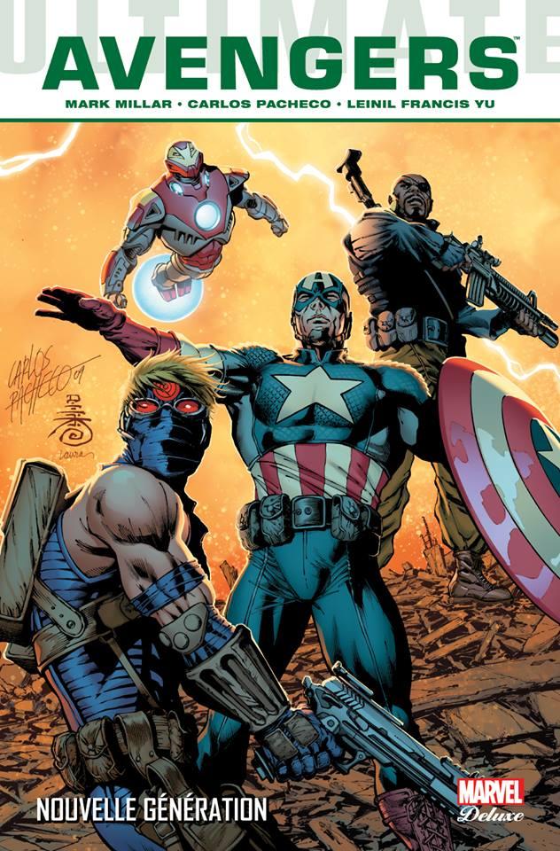 Ultimate Avengers T1 : Nouvelle Génération  (0), comics chez Panini Comics de Millar, Pacheco, Alanguilan, Yu, McCaig, Ponsor, Martin jr