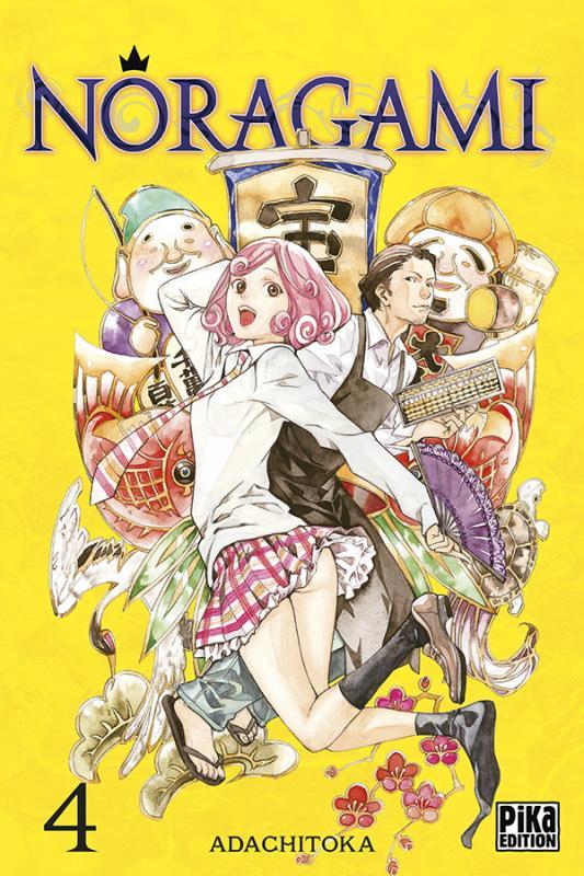 Noragami T4, manga chez Pika de Adachi