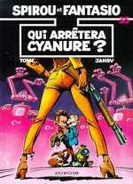 Spirou et Fantasio T35 : Qui arrêtera Cyanure (0), bd chez Dupuis de Tome, Janry