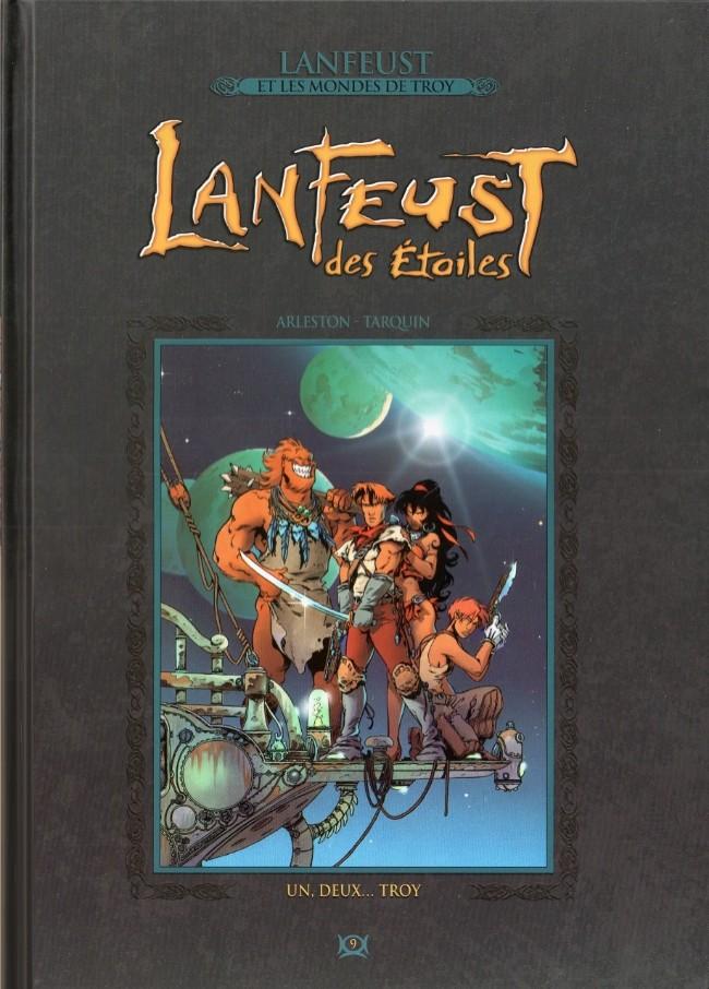 Lanfeust et les mondes de Troy T9 : Lanfeust des étoiles - Un, deux...Troy  (0), bd chez Hachette de Arleston, Tarquin, Guth