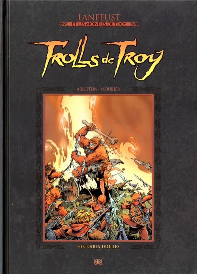 Lanfeust et les mondes de Troy T46 : Trolls de Troy - Histoires trolles (0), bd chez Hachette de Arleston, Mourier, Guth
