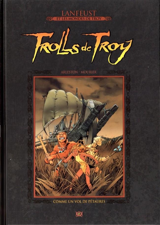Lanfeust et les mondes de Troy T48 : Trolls de Troy - Comme un vol de pétaure (0), bd chez Hachette de Arleston, Mourier, Guth