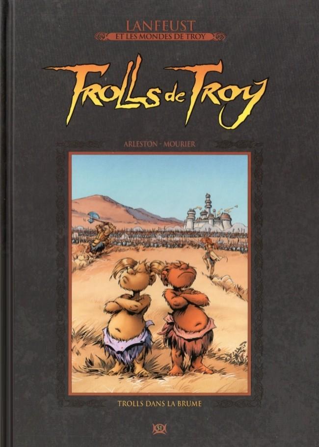 Lanfeust et les mondes de Troy T51 : Trolls de Troy - Trolls dans la brume (0), bd chez Hachette de Arleston, Mourier, Guth, Lamirand