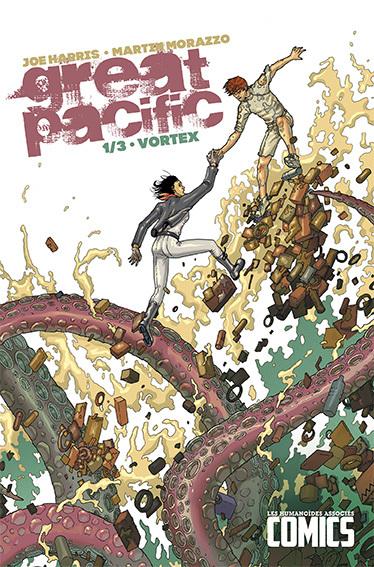 Great Pacific T1 : Vortex (0), comics chez Les Humanoïdes Associés de Harris, Morazzo, Tiza Studio