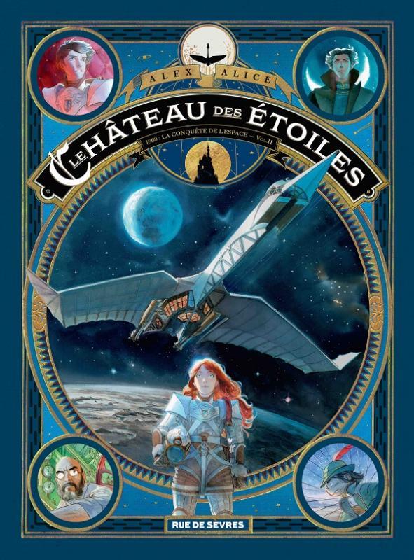 Le Chateau des étoiles T2 : 1869 : La conquête de l'espace (0), bd chez Rue de Sèvres de Alice