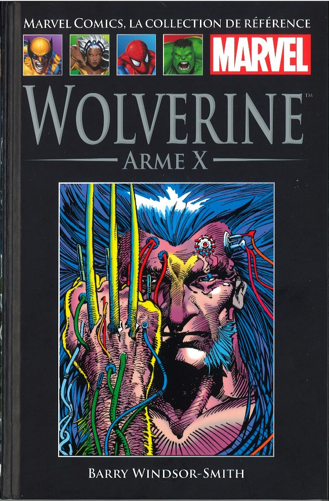 Marvel Comics, la collection de référence T13 : Wolverine - Arme X (0), comics chez Hachette de Windsor-Smith