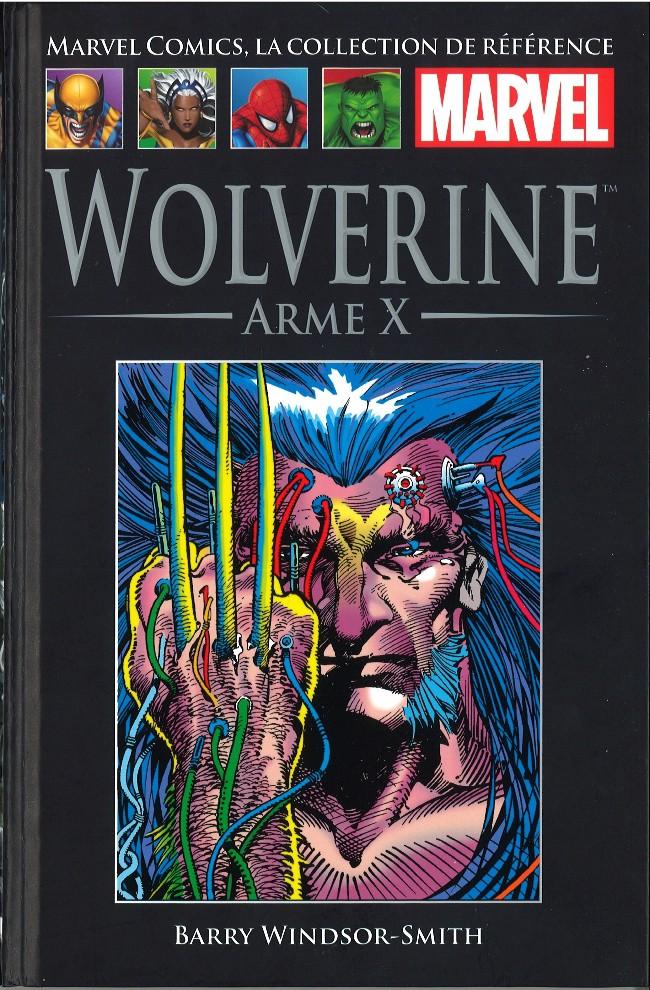 Marvel Comics, la collection de référence T13 : Wolverine - Arme X (0), comics chez Hachette de Windsor-Smith
