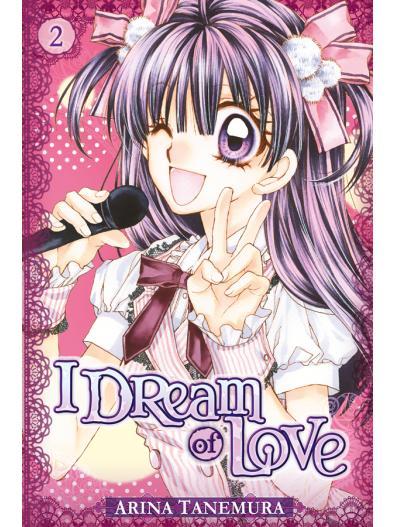 I dream of love T2, manga chez Tonkam de Tanemura