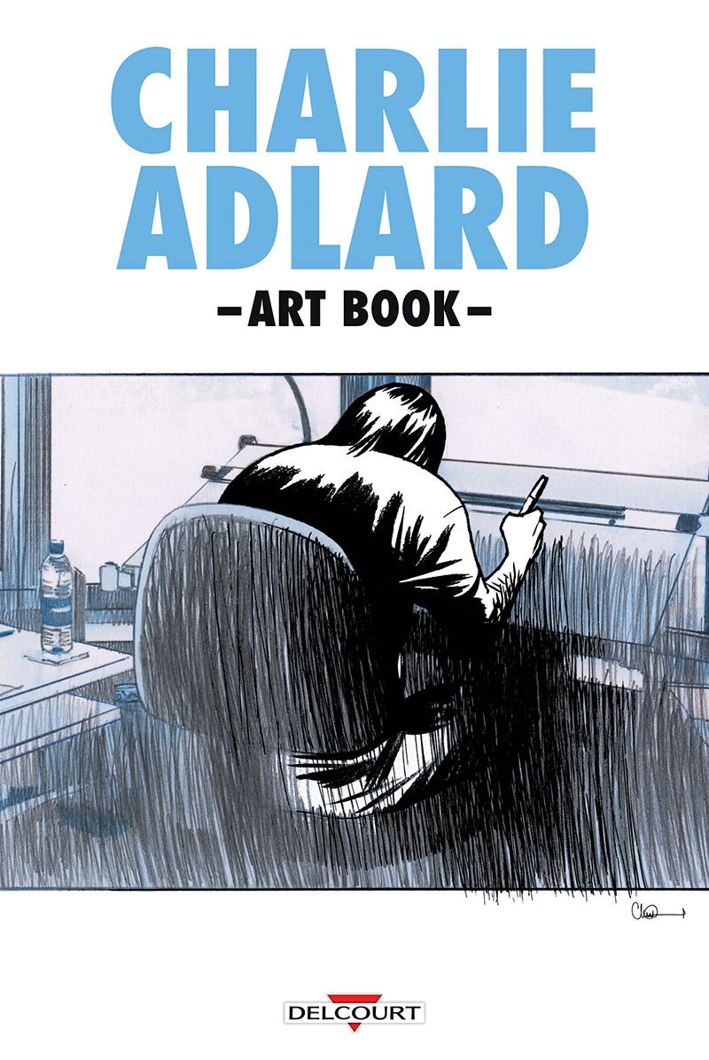 Charlie Adlard Art Book, comics chez Delcourt de Adlard