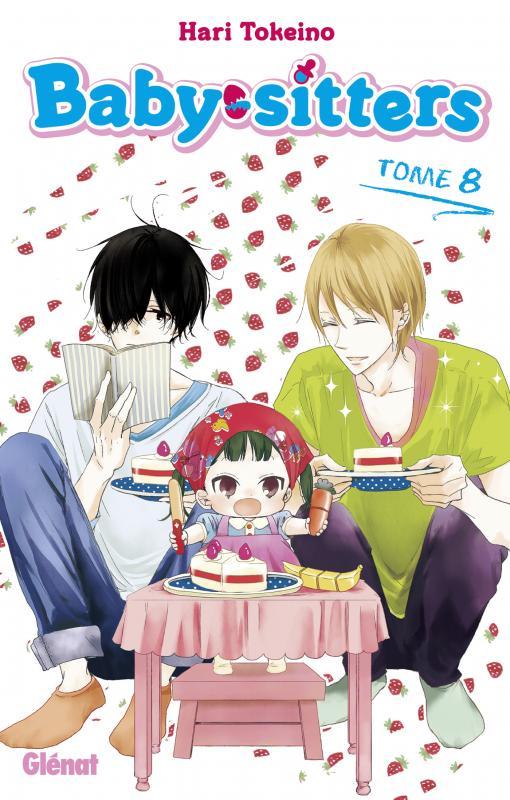 Baby sitters T8, manga chez Glénat de Tokeino