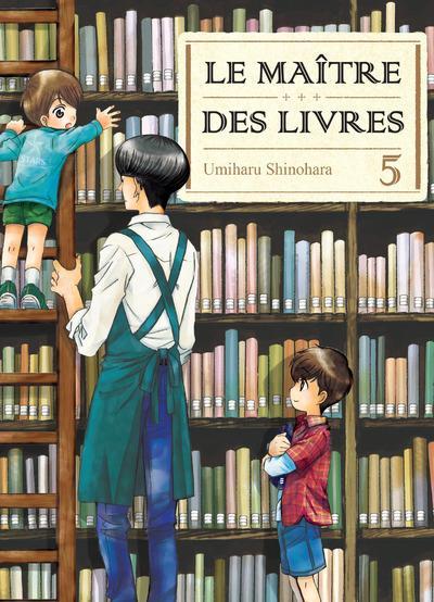 Le maître des livres T5, manga chez Komikku éditions de Shinohara