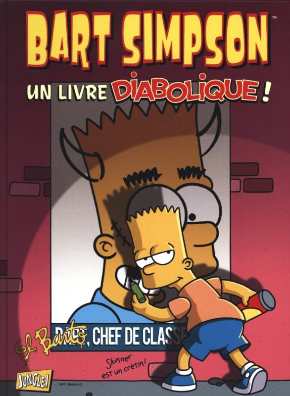 Bart Simpson T10 : Un livre diabolique ! (0), comics chez Jungle de Kress, Yambar, Shaw, Simone, Ho, Escobar, Reese, Villanueva, Groening