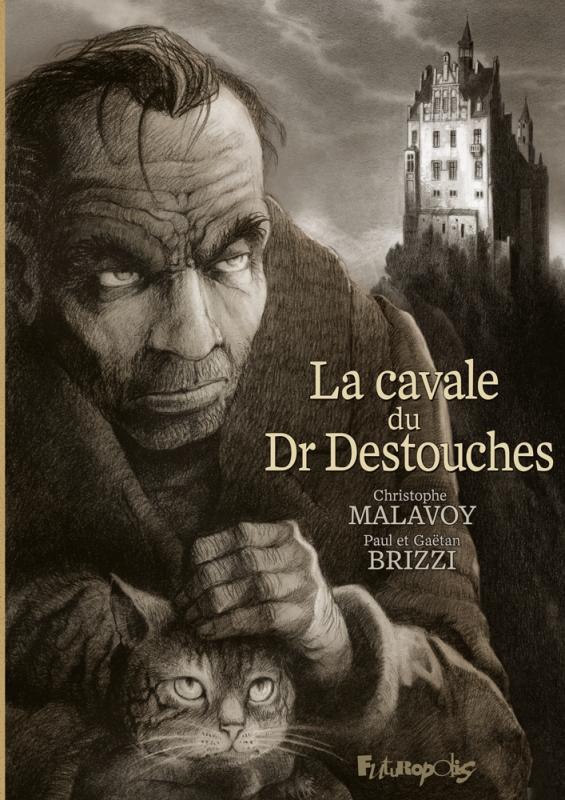 La Cavale du docteur Destouches, bd chez Futuropolis de Malavoy, Brizzi, Paul