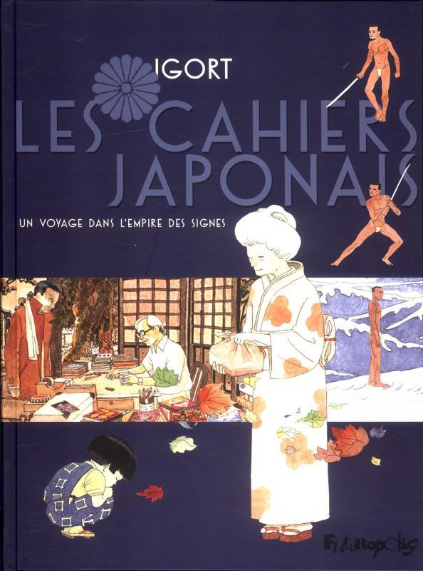 Les Cahiers japonais, bd chez Futuropolis de Igort