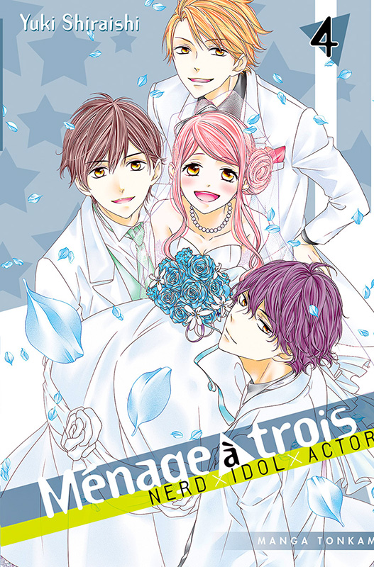 Ménage à trois T4, manga chez Tonkam de Shiraishi