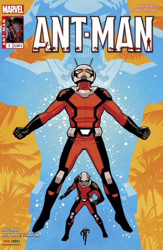 Ant-Man (revue) T2 : Une corvée de plus (0), comics chez Panini Comics de Spencer, Warren, Rosanas, Espin, Rosenberg, Boyo, Chiang