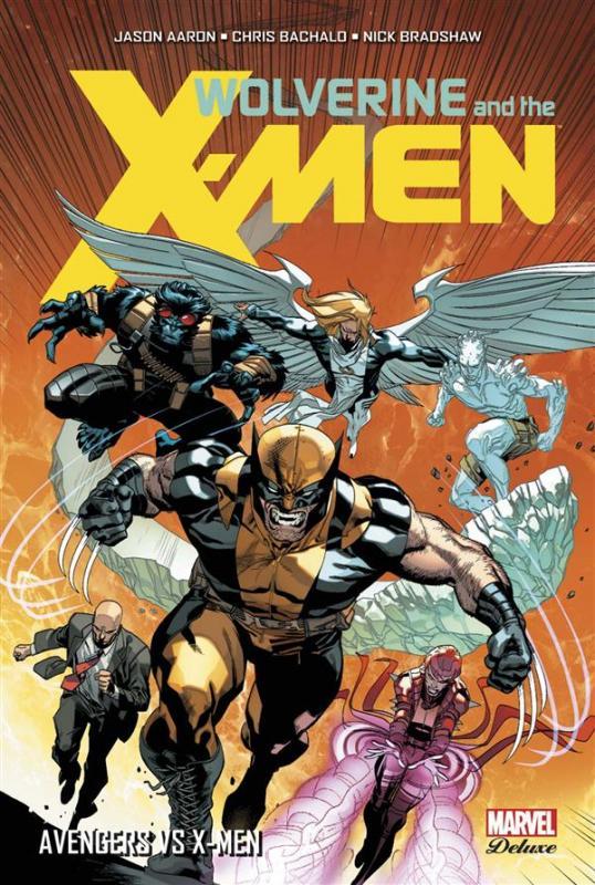 Wolverine and the X-Men T2 : Avengers vs X-Men (0), comics chez Panini Comics de Aaron, Allred, Bachalo, Bradshaw, Molina, Guru efx, Ponsor, Allred, Hollowell, Immonen