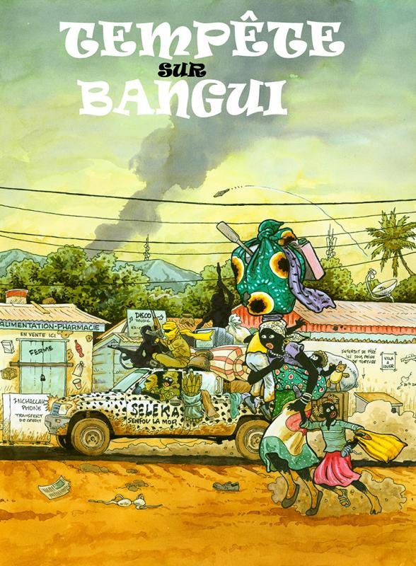 Tempête sur Bangui : Tempête sur Bangui (0), bd chez La boîte à bulles de Kassaï