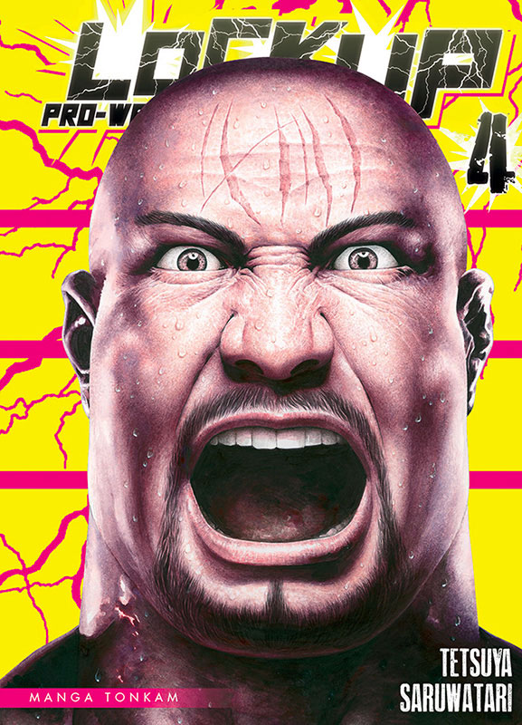 Lock up pro-wrestling T4, manga chez Tonkam de Saruwatari